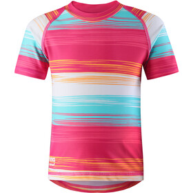 Reima Azores Swim Shirts Girls Candy Pink